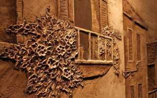 Панно из декоративной штукатурки своими руками: мастер-класс, фото и видео