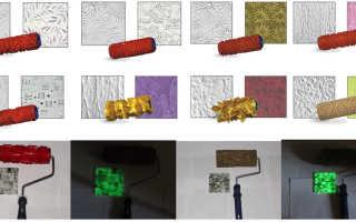 Обзор валиков для декоративной штукатурки стен — ТОП 10