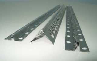 Профили и направляющие для штукатурки стен, откосов и углов: фото