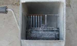 Машинка для нанесения штукатурки под шубу своими руками: фото и видео