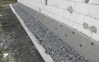 Штукатурка цоколя дома цементным раствором — видео своими руками
