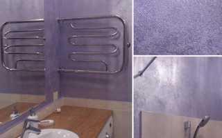 Как нанести влагостойкую штукатурку в ванной комнате?