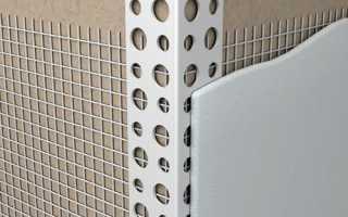 Штукатурка стен и откосов фасада с помощью уголка: фото