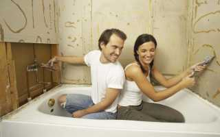 Штукатурка для ванной: обзор популярных вариантов