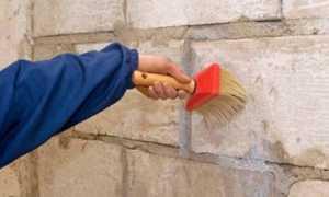 Грунтовка стены для штукатурки: фото и видео инструкция