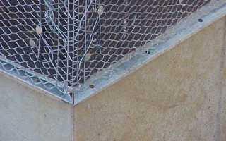 Какую сетку использовать для штукатурки фасада: технология штукатурки фасада по сетке своими руками на фото и видео