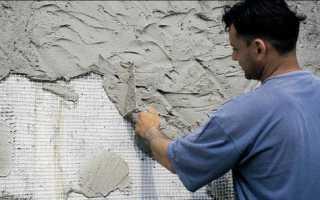 Армирующая сетка для штукатурки стен фасада: выбор и монтаж