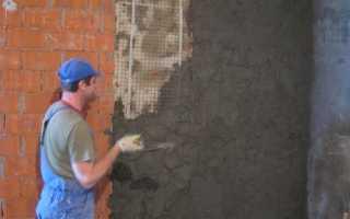 Штукатурка стен из кирпича: особенности нанесения