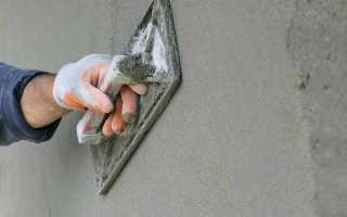 Наружная штукатурка по бетону: 4 особенности нанесения