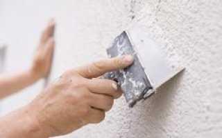 Технология нанесения финишной штукатурки на бетонные стены своими руками: фото и видео инструкция