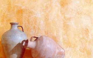 Краска с эффектом декоративной штукатурки: фото