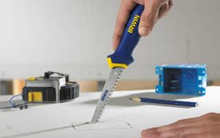 Лайфхак: как правильно нарезать гипсокартон дома своими руками