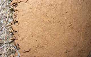 Глиняная штукатурка: состав, нанесение своими руками