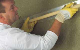 Штукатурка по бетону для наружных работ и внутренних