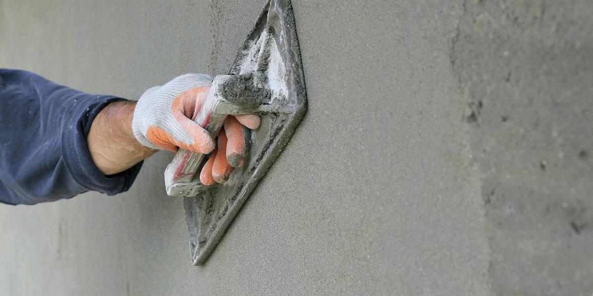 накрыка цементно песчаным раствором