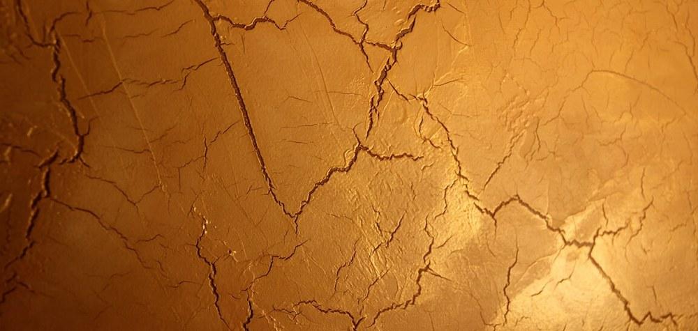 декоративные трещины на штукатурке