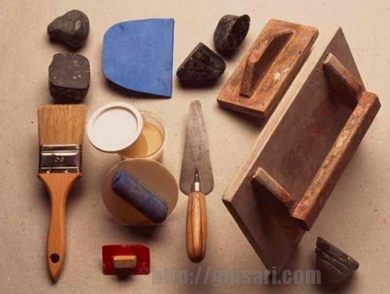 марокканская штукатурка инструмент
