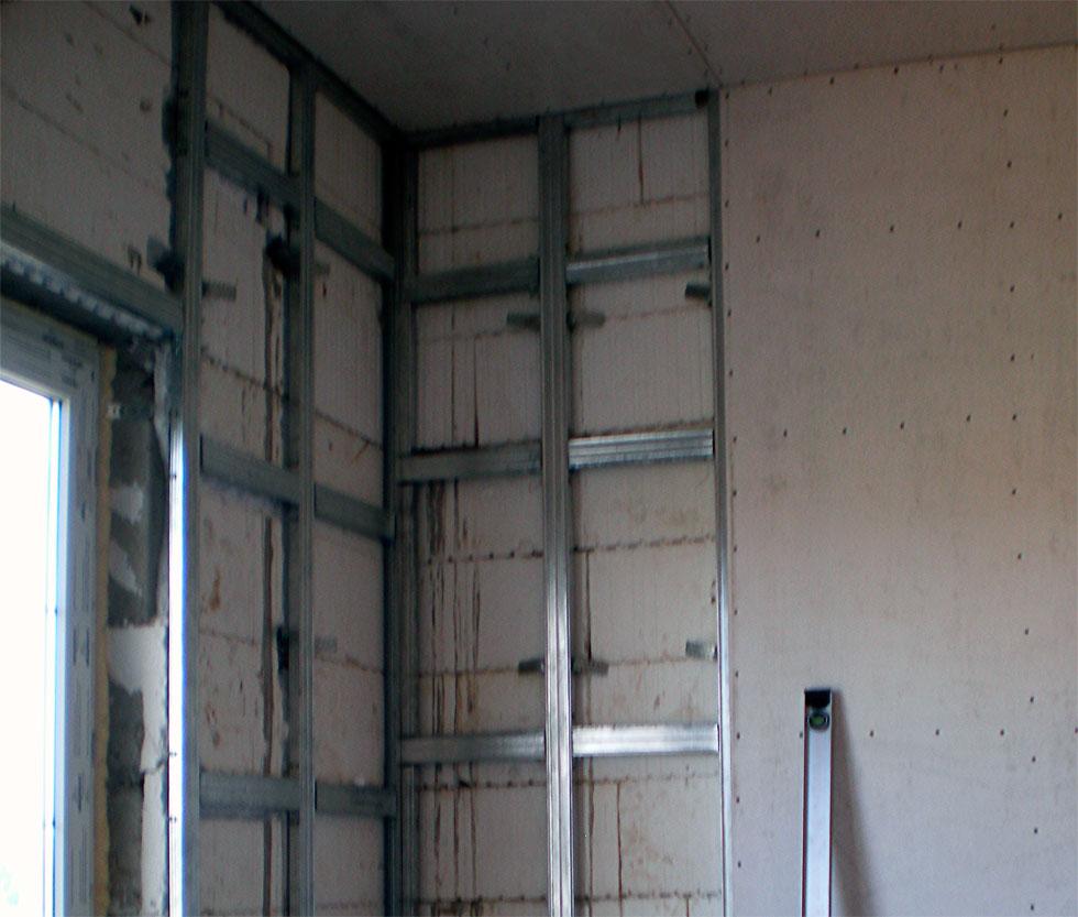 Варианты штукатурки стен из керамзитобетонных блоков