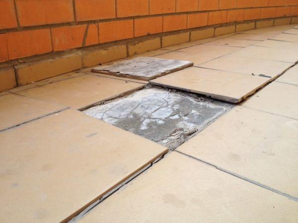 теплый пол в плиточный клей под плитку