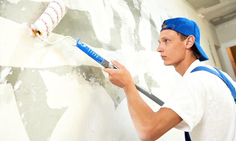 подготовка стены к роллерной штукатурке
