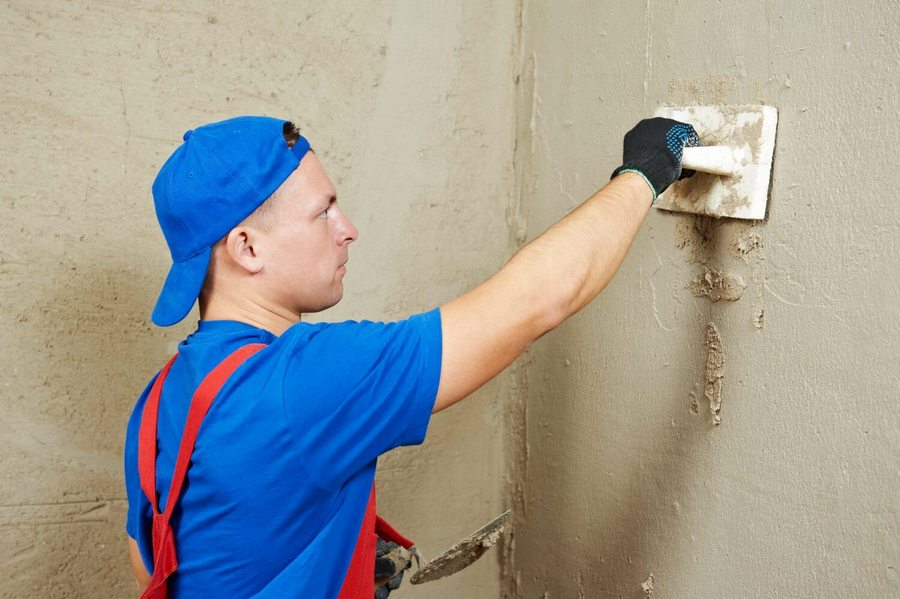 подготовка и выравнивание стены