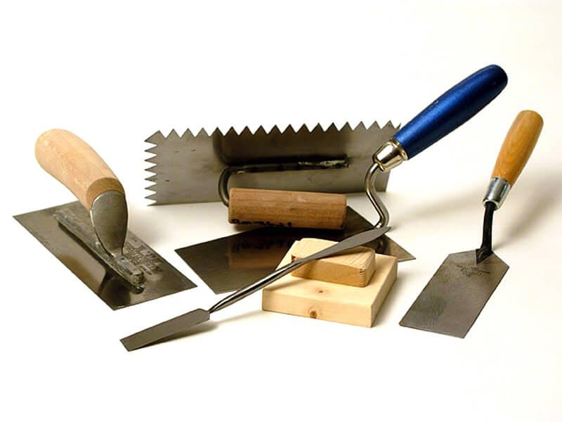 инструмент для штукатурки печи